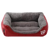 Price Comparison For 58 45 14Cm Candy Color Fresh Pet Nest Dog Houses Cat Mats Pet Beds Supply Red Wine Intl
