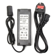 Purchase 5A Socket 240V Mains Plug To 12V Dc Car Charger Power Adapter Uk Intl