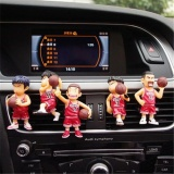 Lowest Price 5Pcs Slamdunk Car Perfume Creative Car Outlet Vent Clip Air Freshener Perfume Fragrance Scent Intl