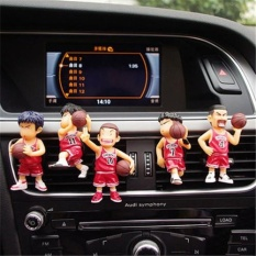 Review 5Pcs Slamdunk Car Perfume Creative Car Outlet Vent Clip Air Freshener Perfume Fragrance Scent Intl On China