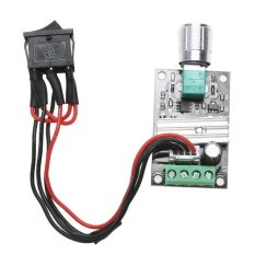 6v 12v 24v 3a Pwm Dc Motor Speed Controller Forward Reverse /w Switch - Intl By Rainbowonline.