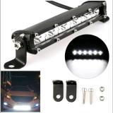 Top Rated 7 18W Single Row Led Light Bar Driving Lamp For Suv Atv Car 4Wd Jeep Motorcycle Escooter
