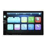 7 Inch 2 Din Touch Screen Bluetooth Usb Tf Fm Dvr Aux Input Car Radio Mp5 On China