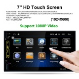 Buy 7 Inch Quad 2Din Bluetooth Car Radio Stereo Player Touch Screen Gps Navigation Am Fm Rds Radio Support Mirror Link China