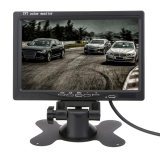 7 Inch Tft Lcd Car Monitor Headrest Display Split For Rear View Camera Dvd Intl Lowest Price