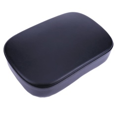 Best Price 8 Suction Cup Motorcycle Rear Passenger Seat Pad For Harley Black Intl