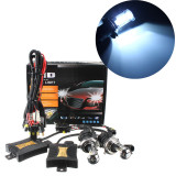 Best Offer 8000K 1 Set Xenon Hid Conversion Kit H4 55W Dc12V Dual Beam Headlight Intl