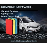 Review 8000Mah Multi Function Car Battery Jump Starter Power Bank Portable Charger For Phone Singapore