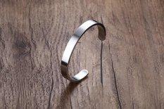 Shop For 8Mm Width Surface Men Bracelet Bangle Stainless Steel Bracelet Men Silver Gold Black 3 Color Available Intl