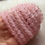 Price 8Mm 10Mm Rose Quartz Bracelet Is Through The Light Pink Lotus Crystal Oem China
