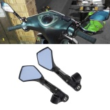 Retail 8Mm 10Mm Cnc Motorcycle Rearview Side Mirrors Street Sports Bike Chopper Ruiser Intl