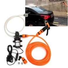 Wholesale 8Pcs Set Portable 80W 116Psi 12V High Pressure Car Electric Washer Wash Pump Intl