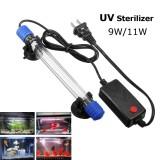 Get Cheap 9W 11W Submersible Aquarium Pond Fish Tank Light Uv Sterilizer Water Clean Lamp 11W Intl