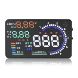 Buy Cheap A8 5 5 Car Hud Head Up Display Obd Ii 2 Speed Warning System Fuel Consumpt