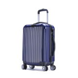 Price Comparisons Of Abs Pc Glossy Protector With Hanger Luggage 20 Inches Navy Blue