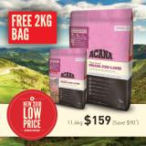 Low Price Acana Grass Fed Lamb Dog 11 4Kg