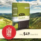 Acana Grasslands Cat 1 8Kg Expiry Aug 2018 Lowest Price