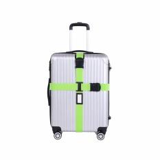 Low Price Adjustable Travel Luggage Belt Packing Strap Suitcase Baggage Secure Cross Belt Intl