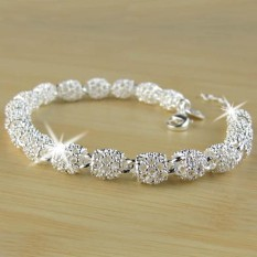 435c14b3a Ai Home Fashion 7mm Hollow Out Ball Link Chain Bracelet Bangle Jewelry -  intl