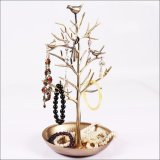 Best Offer Ai Home Jewelry Earrings Display Stand Holder Birds Tree Craft Ancient Bronze2 Intl