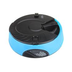 Amart 6 Meal Lcd Digital Automatic Pet Dog Cat Feeder Recorder Bowl Meal Dispenser (blue) - Intl By Amart.
