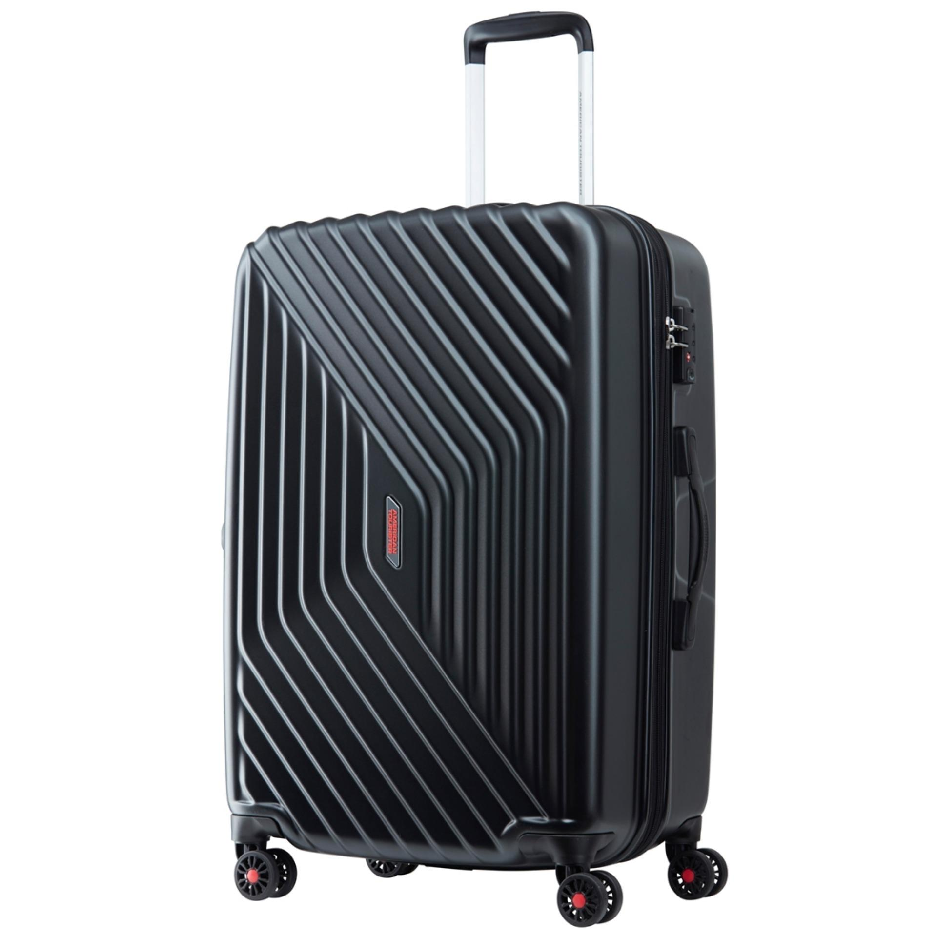 Sale American Tourister Air Force Spinner 69 25 Exp Tsa Galaxy Black On Singapore