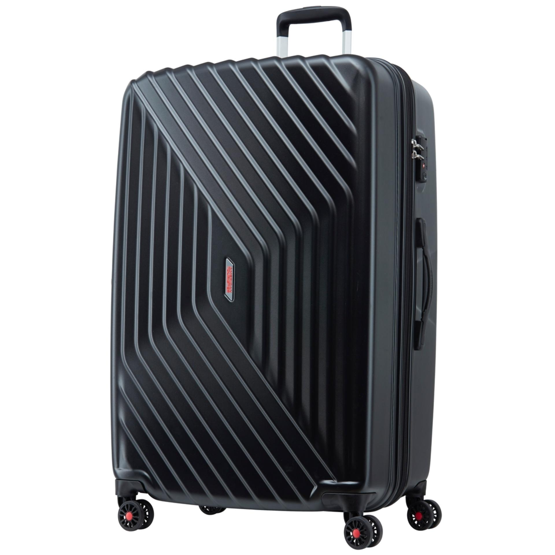 Price American Tourister Air Force Spinner 79 29 Exp Tsa Galaxy Black American Tourister New