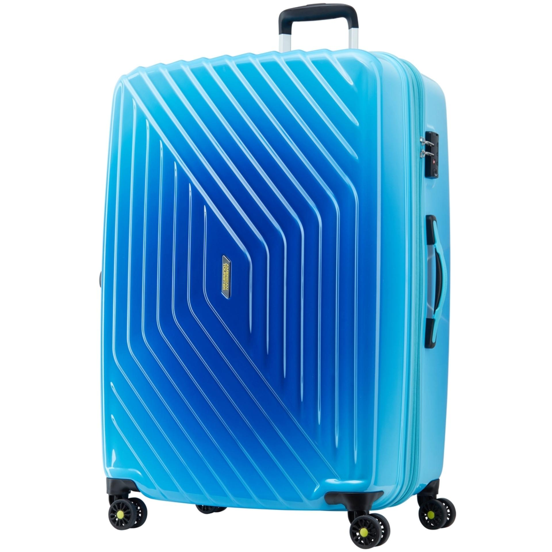 Buy Cheap American Tourister Air Force Spinner 79 29 Exp Tsa Gradient Blue