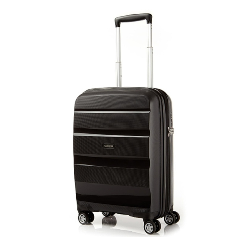 American Tourister Bon Air Deluxe Spinner 55cm Exp (Black)
