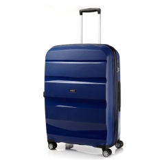 American Tourister Bon Air Deluxe Spinner 75Cm Exp Midnight Navy Deal
