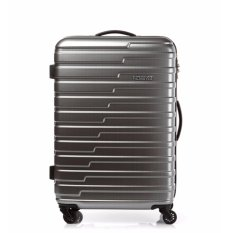 Price American Tourister Handy Spinner 70 Tsa Matt Grey Checks On Singapore