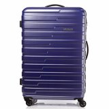 Buy American Tourister Handy Spinner 78 Tsa Matt Blue Checks On Singapore
