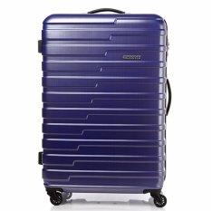 Deals For American Tourister Handy Spinner 78 Tsa Matt Blue Checks