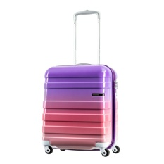Best American Tourister Hs Mv Deluxe Spinner 50Cm Gradient Purple