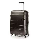 Discount American Tourister Hs Mv Deluxe Spinner 79Cm Exp Matte Black Checks