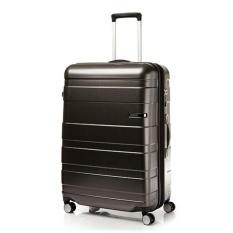 American Tourister Hs Mv Deluxe Spinner 79Cm Exp Matte Black Checks Best Price