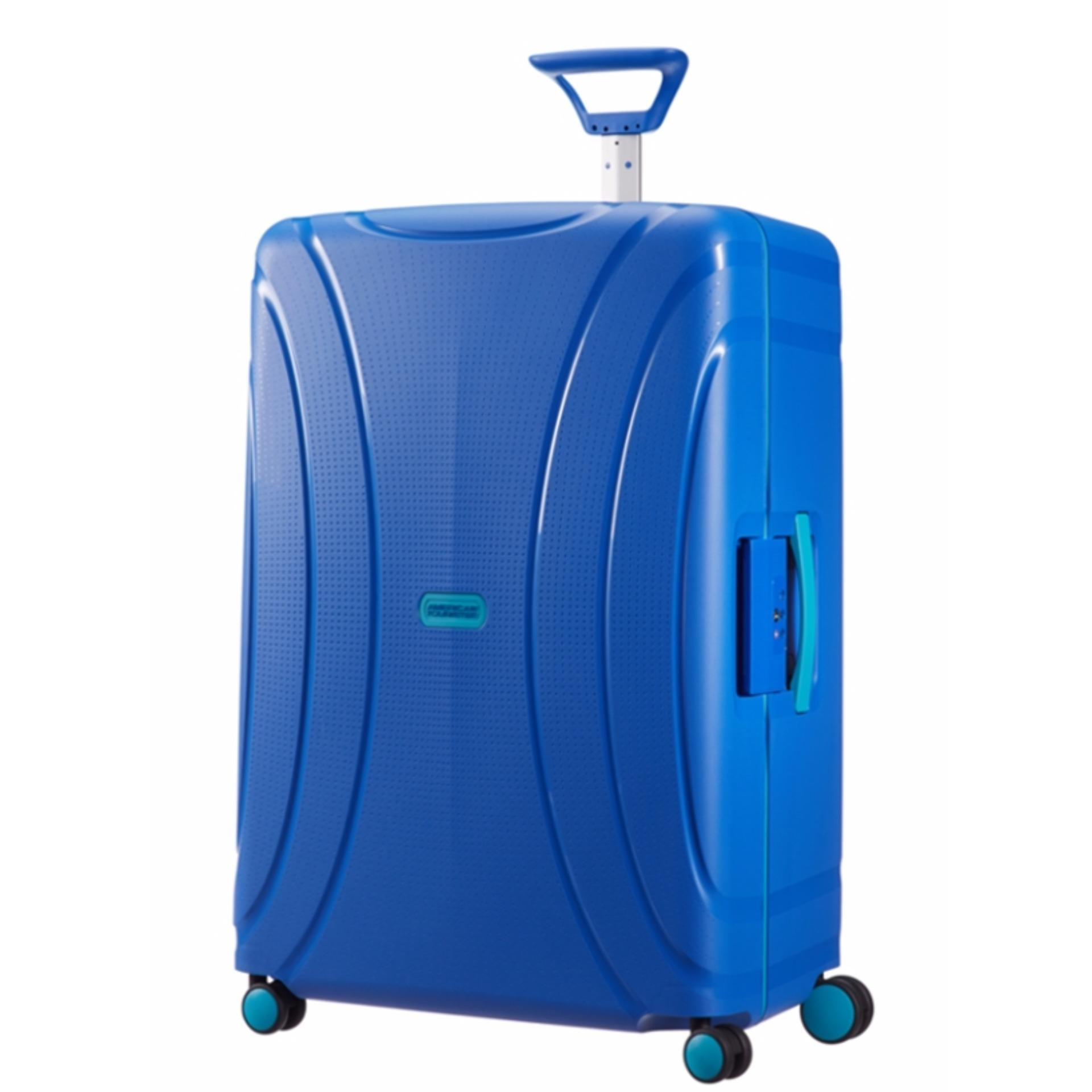 American Tourister Lock N Roll Spinner 75 28 Skydiver Blue In Stock