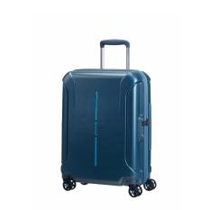 Retail American Tourister Technum Spinner 55 20 Tsa Asia Metallic Blue