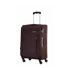 Sale American Tourister Troy Spinner 56 20 Tsa Chocolate Brown Online Singapore