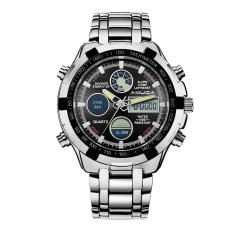 Who Sells Amuda Brand Digital Casual Men Watch Led Full Steel Mens Sports Quartz Watch Military Army Male Watches Silver Black Export Intl Cheap