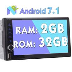 Best Android 7 1 Nougat Car Stereo Video Player In Dash Gps Navigation Head Unit With 2Gb Ram Octa Core Automotive Radio Audio Bluetooth System Support Wifi 1080P Mirrorlink Usb Sd Obd2 Intl