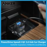 Get Cheap Anker Powerdrive Speed 2 Quick Charge 3 Usb Car Charger