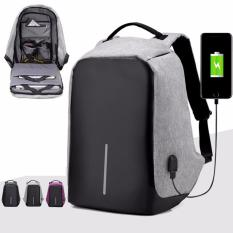 Purchase Anti Theft Backpack Business Laptop Bag Sch**l Bag With Usb Port For Charging