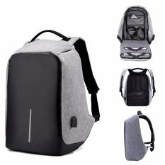 Review Anti Theft Backpack Travel Usb Port Business Laptop Bag Sch**l Book Bag For College Students On Singapore