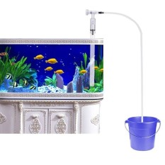 Coupon Aquarium Fish Tank Gravel Sand Cleaner Siphon Pump Water Chargerwith Water Flow Adjuster Squeeze Free Intl