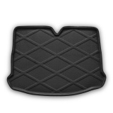 Areuourshop Boot Liner Cargo Mat Tray Rear Trunk For Vw Scirocco 2009 2013 Black Intl Coupon