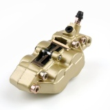 Retail Areyourshop Right Side Motorcycle Bike Atv Scooter 4 Pistons Radial Brake Calipers Gold