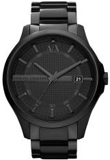 Compare Prices For Armani Exchange Men S Black Stainless Steel Strap Watch Ax2104