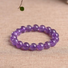 Authentic Amethyst 8Mm Beads Bracelets Natural Stone Gemstone Fashion Crystal Jewelry Accessory Party Gifts Beauty New Intl Free Shipping