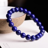 Where Can You Buy Authentic Lapis Lazuli 8Mm Beads Bracelets Natural Stone Gemstone Fashion Crystal Jewelry Accessory Party Gifts Beauty New Intl